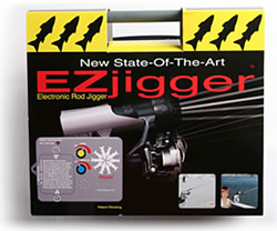 EZjigger Electronic Fishing Pole Jigger