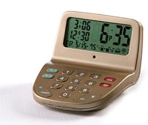 Keytaset Radio-Controlled Alarm Clock